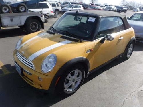 Selma OR  2008 MINI Cooper convertible only 74K miles  Car for