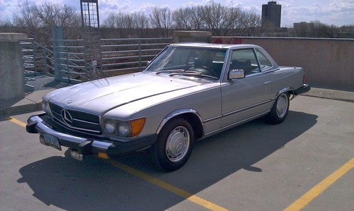 1976 Mercedes 450SL Convertible With 60k Original Miles