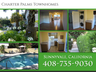 $2,595, 2br, Bright Sunnyvale Park View 2BR 1.5BA Townhome, with Washer/Dryer In-Unit plus Free Dish Network TV + HBO