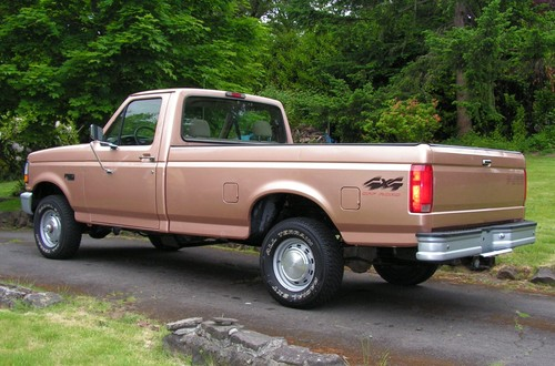 1994 ford f150 4x4 one owner unmolested truck only 54k miles 945 sw maplecrest court