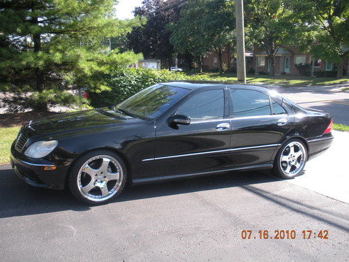 2002 mercedes s500 carlsson 4136 indianola ave columbus for Mercedes benz 2002 s500 for sale