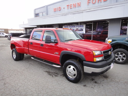 2006 LOADED CHEVY SILVERADO DUALLY REDUCED #3B1156A