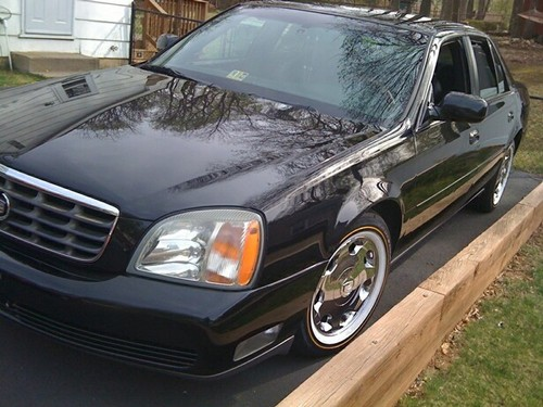 2002 BLACK CADILLAC DHS FOR SALE!!!