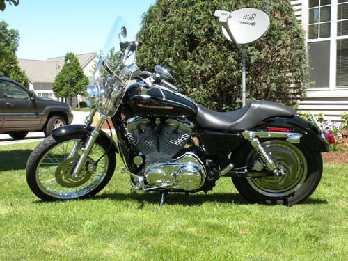 FOR SALE 2004, 70hp, Harley-Davidson Sportster 883/1200 Custom, Vivid Black