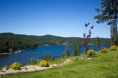 Home for Sale with Spectacular Coeur d'Alene Lake Views