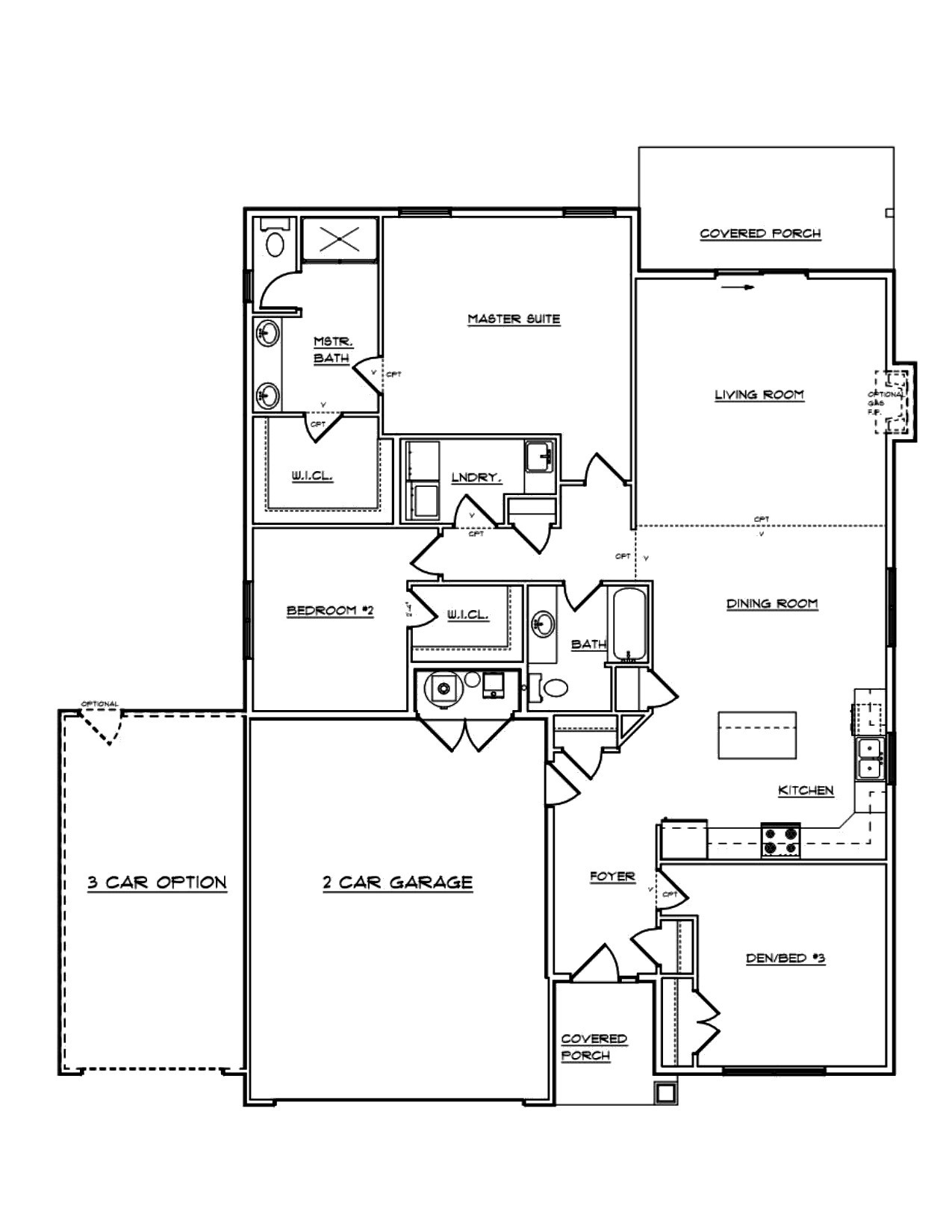 Plan 1802 aho northwest for Aho construction floor plans