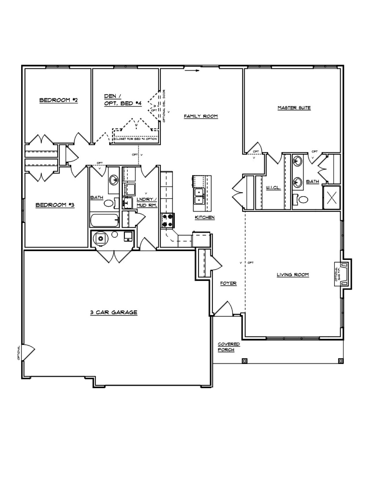 Plan 2018 aho northwest for Aho construction floor plans