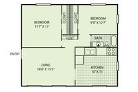 Imagen 6 de Apartamento de 550 ft²…