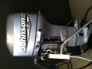 2000 johnson 35 hp power trim tilt outboard motor 3 for Power trim motor for johnson outboard