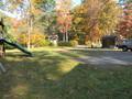 Large flat yard