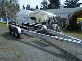 $7,950, **IN STOCK** New 2017 Triple Axle 12,600# boat wt. Aluminum Boat Trailer 27-33ft  VATB-12625