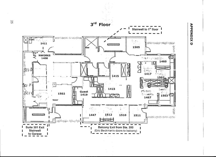 3rd Floor Plan Madrona Executive Offices Floor Plan Seattle Consultant LLC
